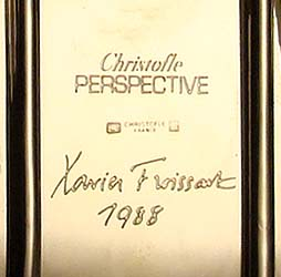 <I>Christofle</I> PERSPECTIVE<br>Xavier FROISSART